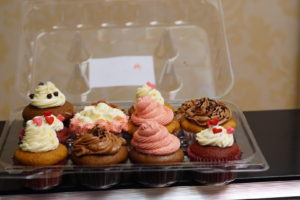 Assorted cupcakes. Sold as a complete pack
