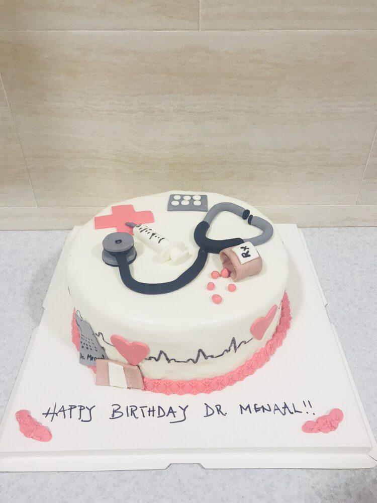 Swell Doctor Cake 002 Cake City Ghana Funny Birthday Cards Online Chimdamsfinfo